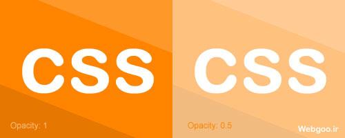 CSS Opacity Filter